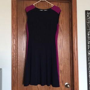 Ralph Lauren aline sheath dress.Stretch fabric